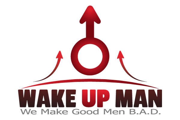 WAKE UP MAN Logo