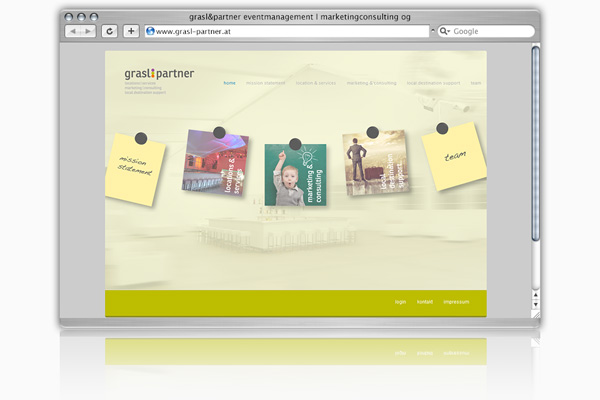 Webdesign: grasl & partner