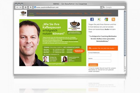 Webdesign: Wiener Coaching Modell